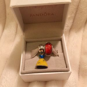 New Pandora Snow White Charm Set